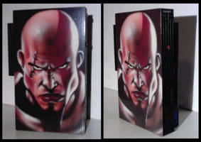Airbrushed Playstation 2 by magaggie