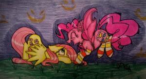MLP FIM: Happy Nightmare Night Fluttershy! by ravenbird14