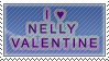 I :heart: Nelly Valentine Stamp by Marthnely-chan