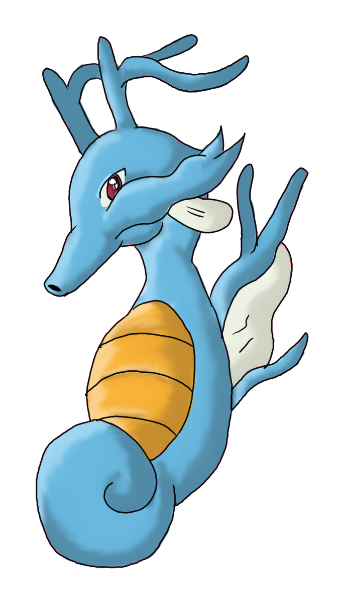 Kingdra~ by Marthnely-chan on DeviantArt
