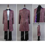 Doctor Purple Wool Blend costume for Who is Doctor