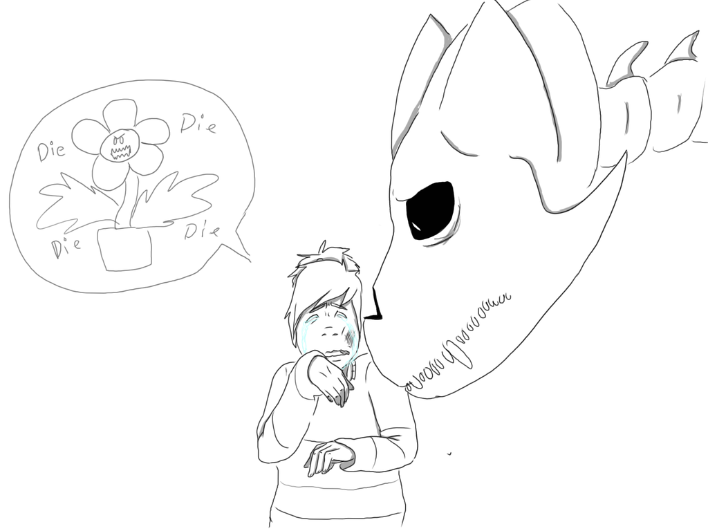 It's just a graphic of Mesmerizing Gaster Blaster Drawing