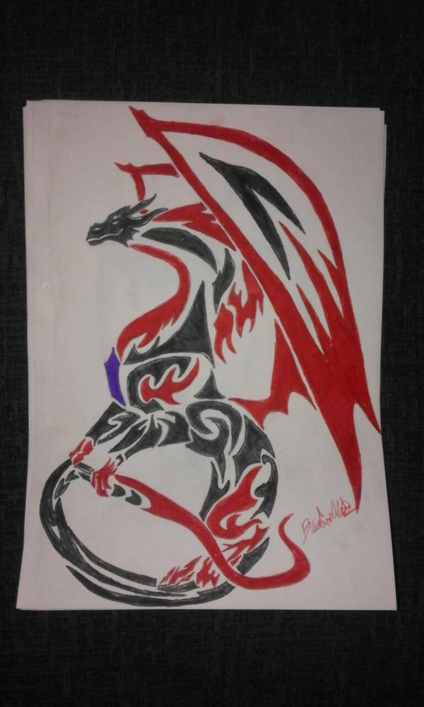 drago flame by Chunkinator9000
