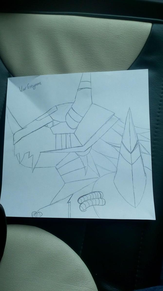 My WarGreymon  by Chunkinator9000