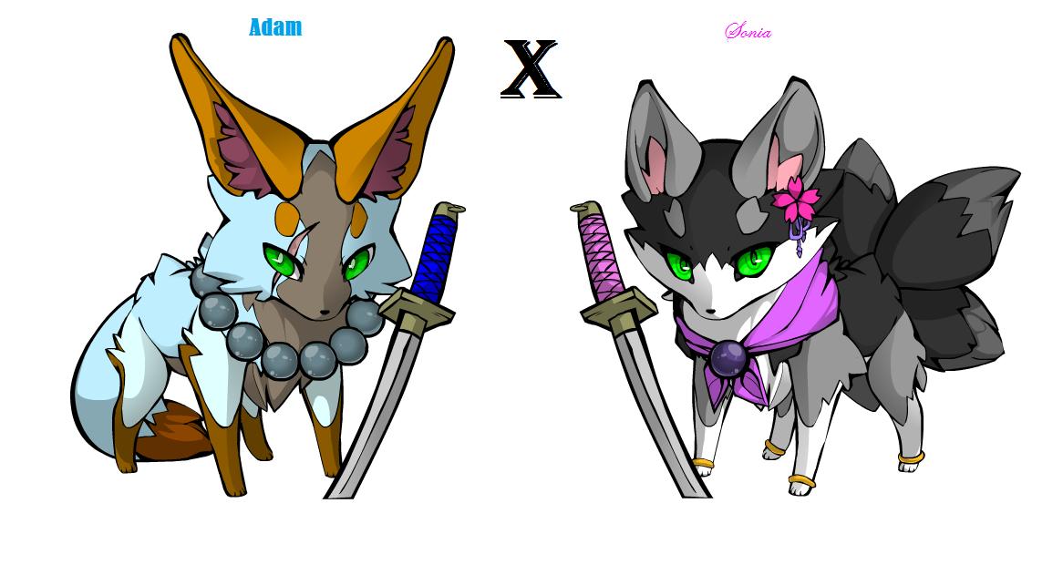 Adam X Sonia by SoniaTheBlackFox