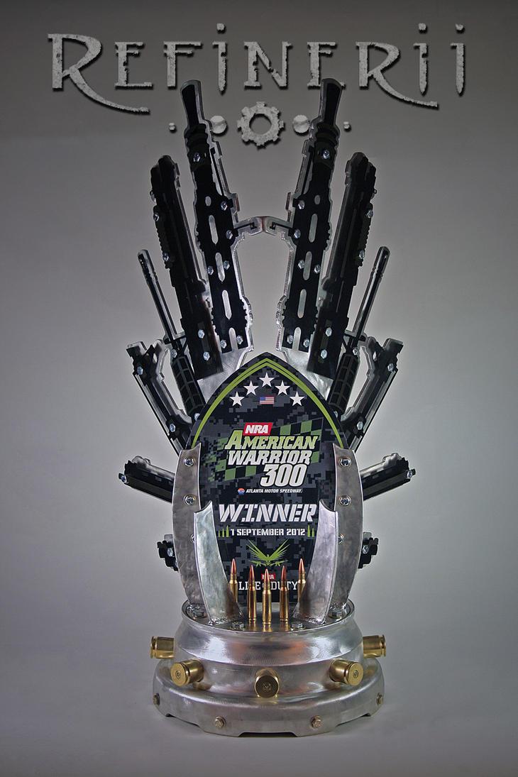American Warrior 300 NASCAR Trophy by REFINERII on DeviantArt