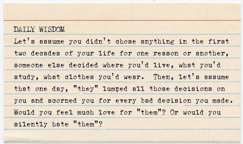 Daily Wisdom - Silent Hate by jisaacs1962