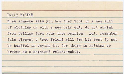 Daily Wisdom - Truth by jisaacs1962