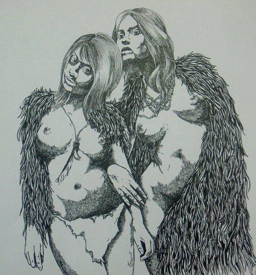 Cave woman's by misiek100