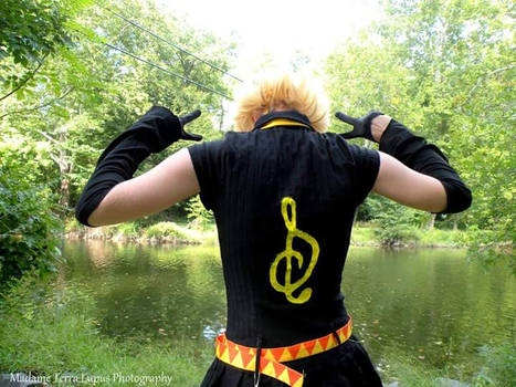 Rin Kagamine Original outfit Photoshoot 5