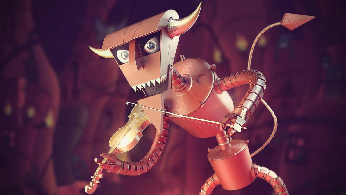 ROBOT DEVIL by Bman2006