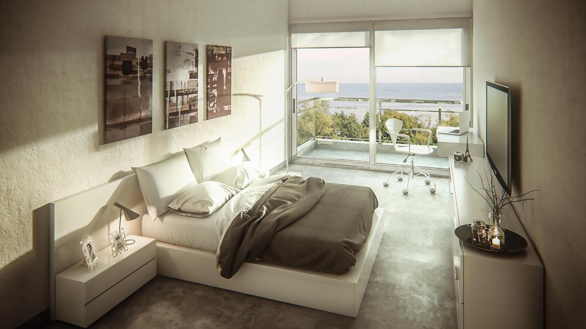 ArchViz Interior Bedroom by Bman2006