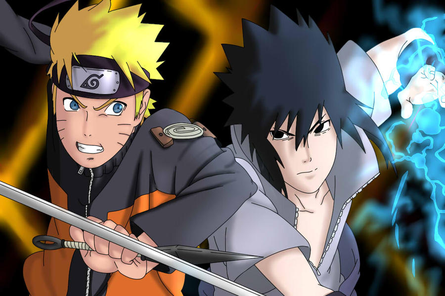 Naruto Fight Sasuke By Freaky135 On DeviantArt