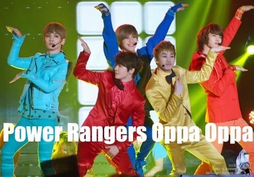Kpop Power Rangers by cclelouchfan