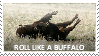 Roll like a buffalo stamp by cclelouchfan