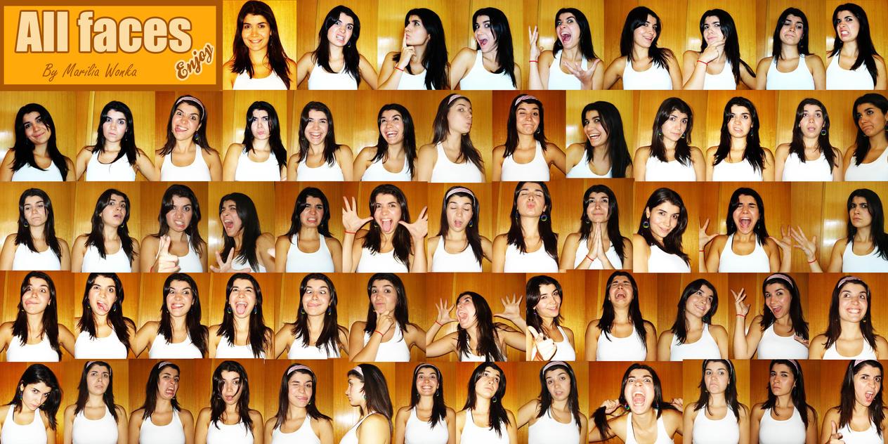 All Faces Marilia Wonka by mariliawonka