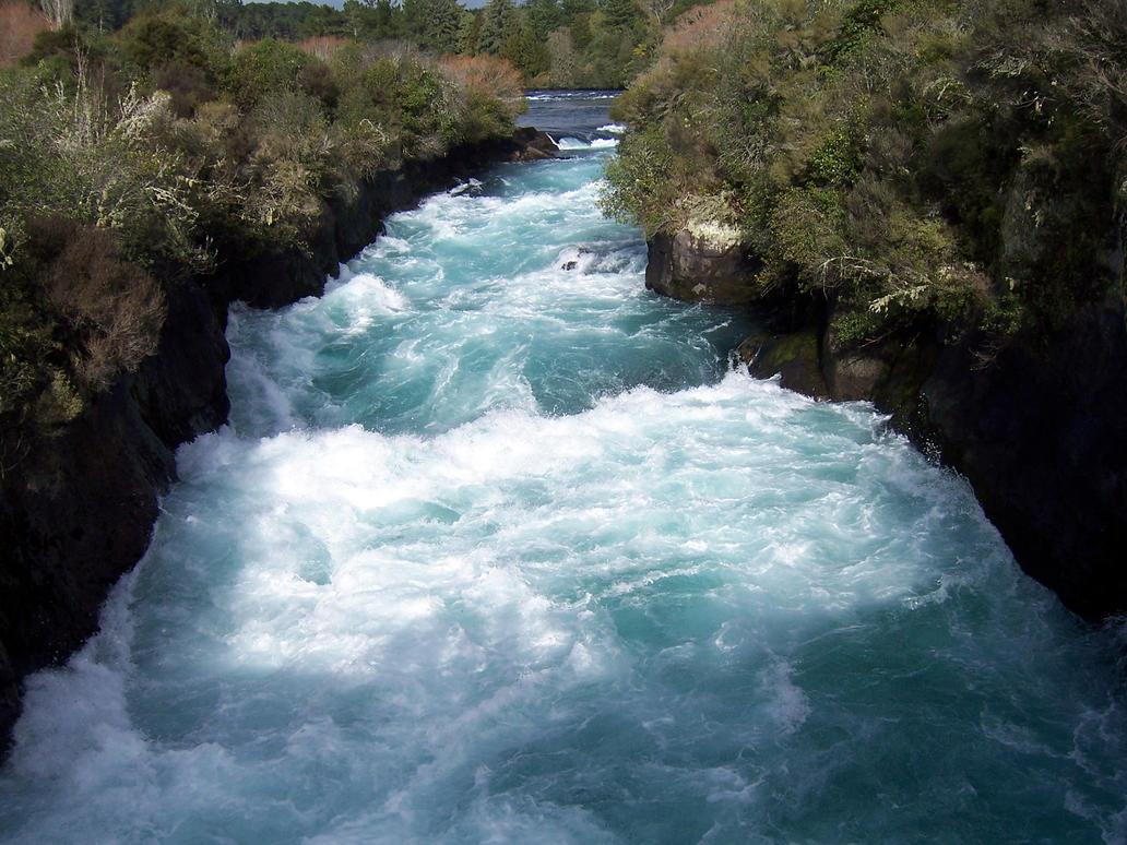 Waikato River Rapids by joshietakashima