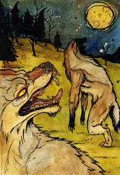 W is for Werewolf