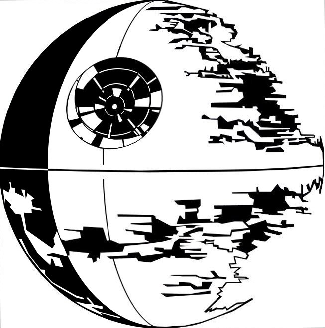 Line Drawing Star : The gallery for gt death star line art