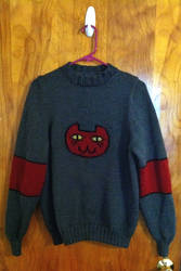 Marceline 'Daddy's Little Monster' Sweater 2.0 by playswithstring