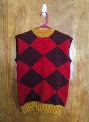Rover Sweater Vest by playswithstring