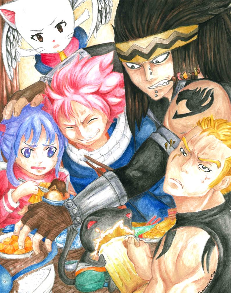 Slayers' Banquet by JessenoSabaku