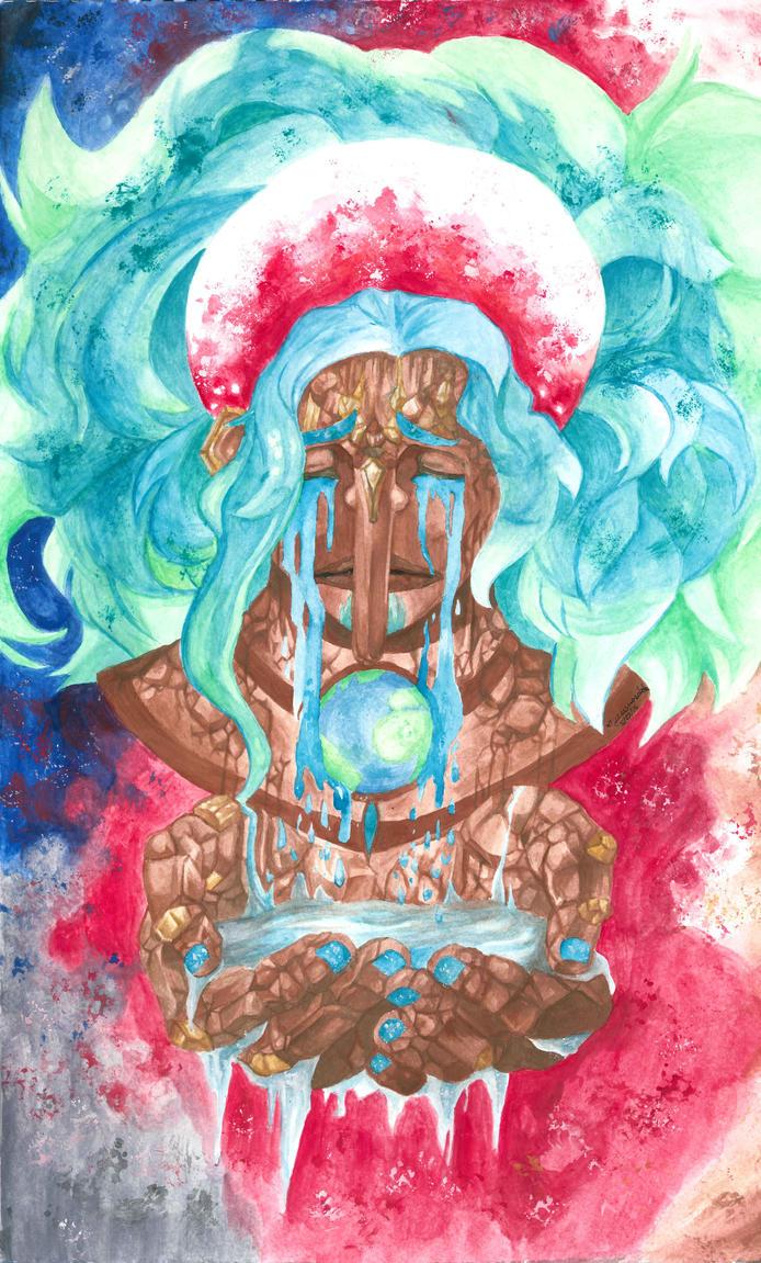 Astral AU Usopp - Fan-art by JessenoSabaku