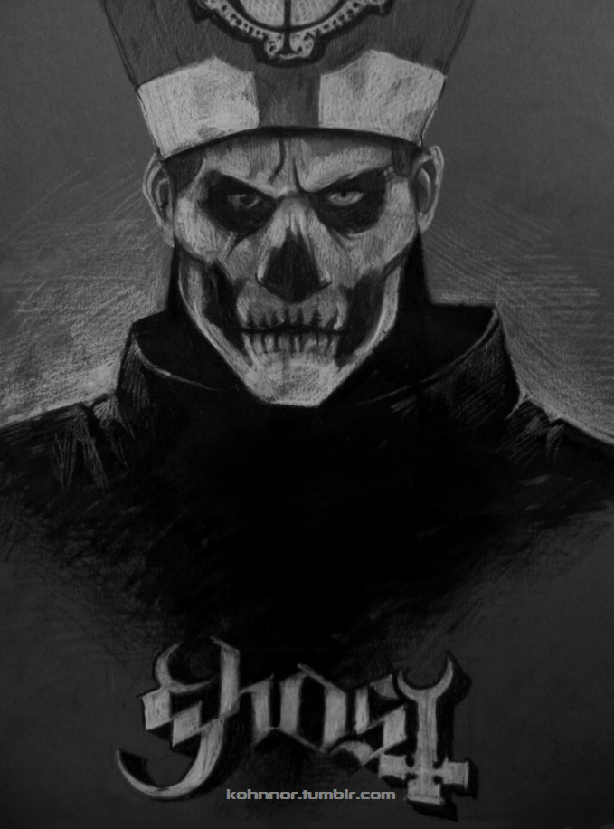 Papa Emeritus II by InvaderLi