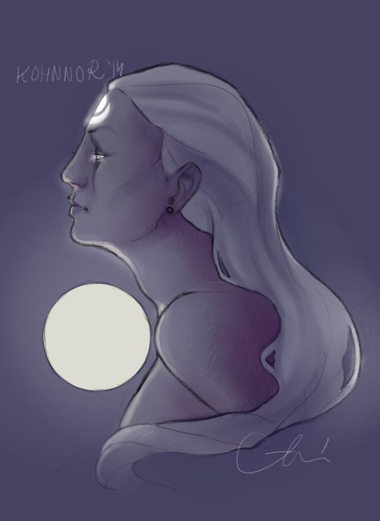Diana by InvaderLi