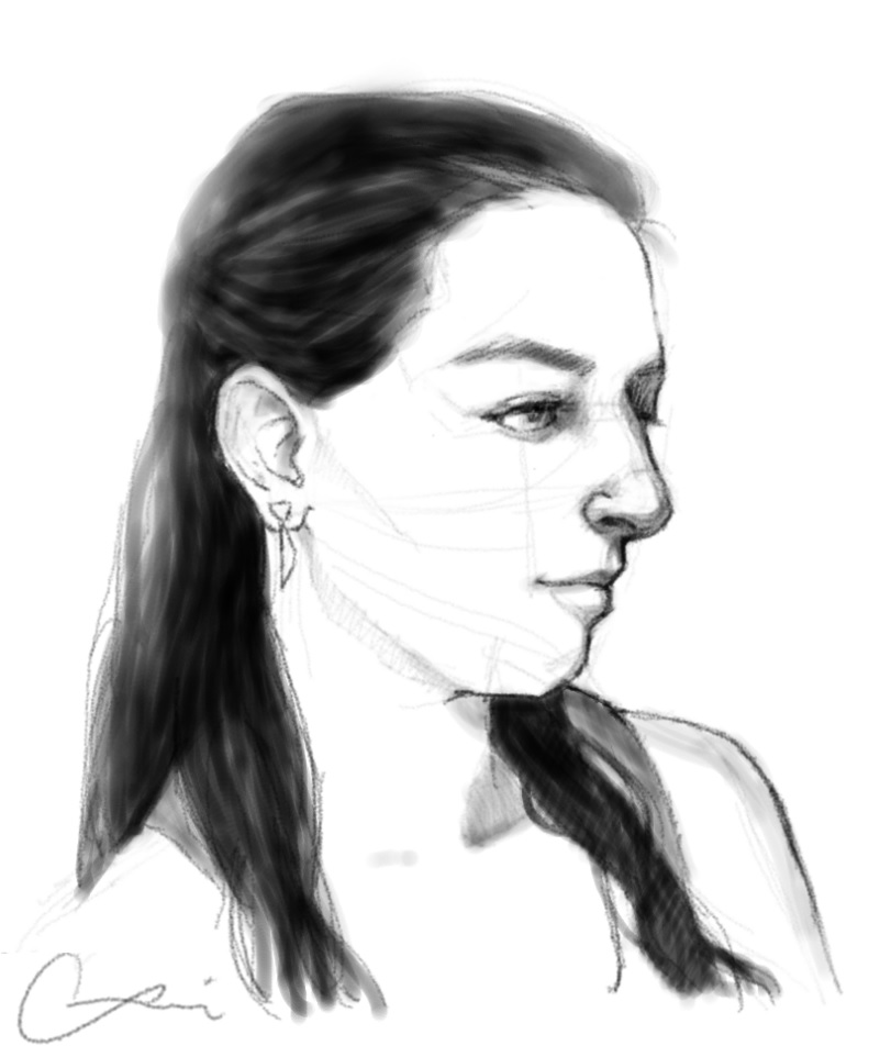 Self portrait by InvaderLi