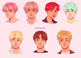 Bangtan From Memory by peachycocoa
