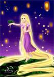 Rapunzel - Lights night