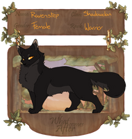 WCA | Ravenstep | Shadowclan by Shegananigans