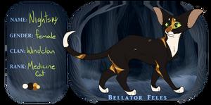 BF | Nightsky | WC Medicine Cat