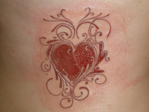 Heart Tattoo Designs Gallery 25