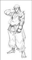 Ryu fanart by your-fathers-belt