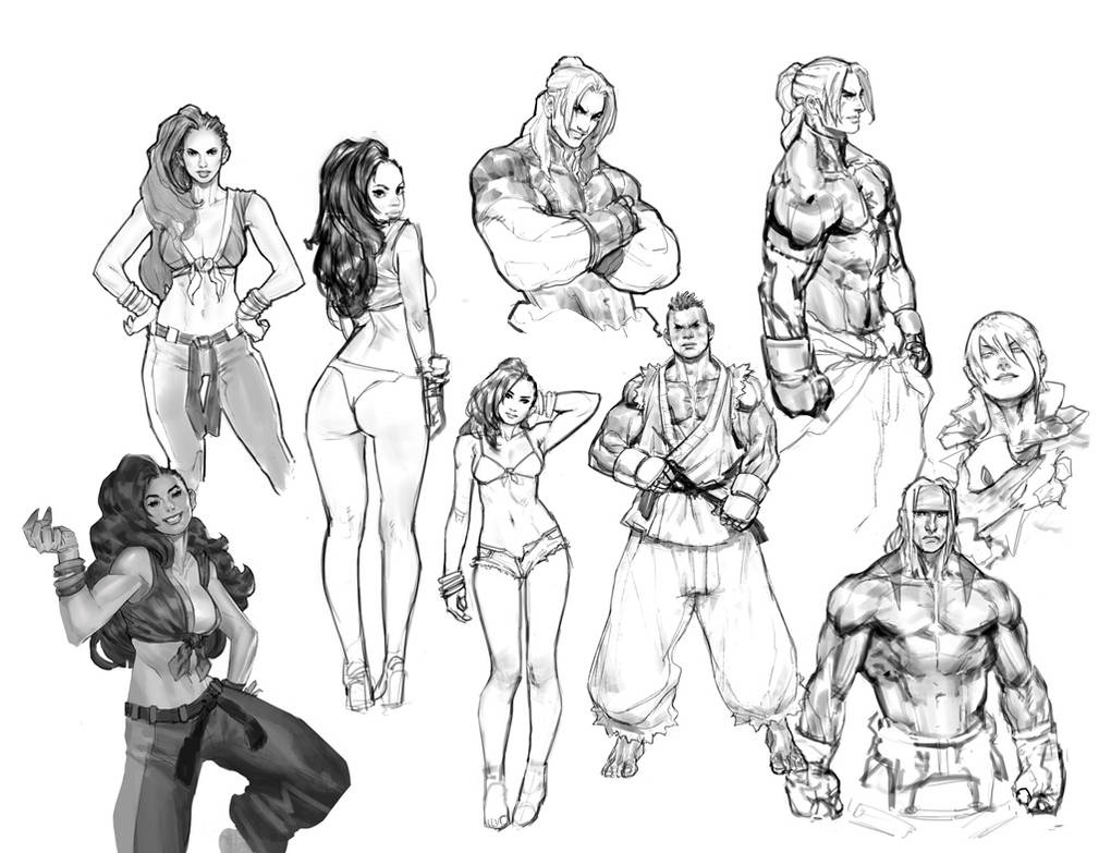 Sfv sketches by your fathers belt