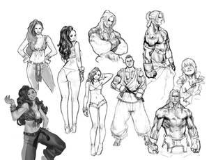 SfV Sketches