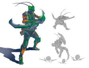 Mantis Man!