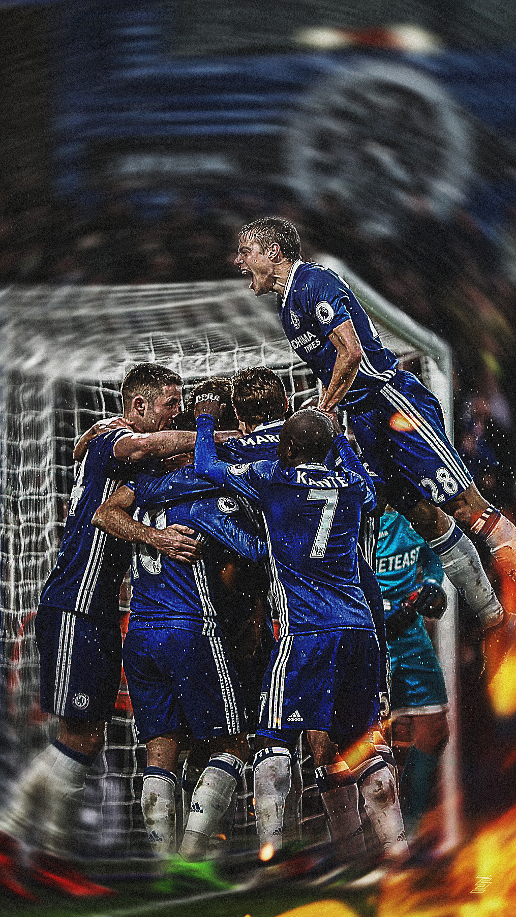 Chelsea FC Lockscreen Wallpaper By Futedit