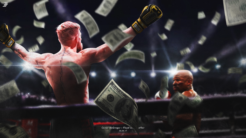 Conor McGregor versus Floyd Mayweather by Futedit on ...