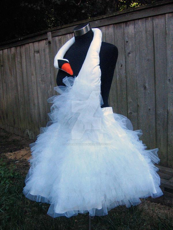 Bjork Swan Dress Replica by laurabububun on DeviantArt
