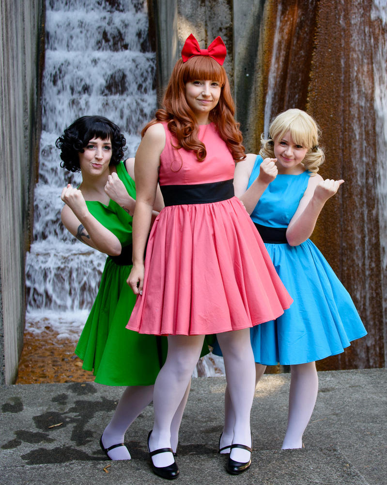 Powerpuff Girls by laurabububun