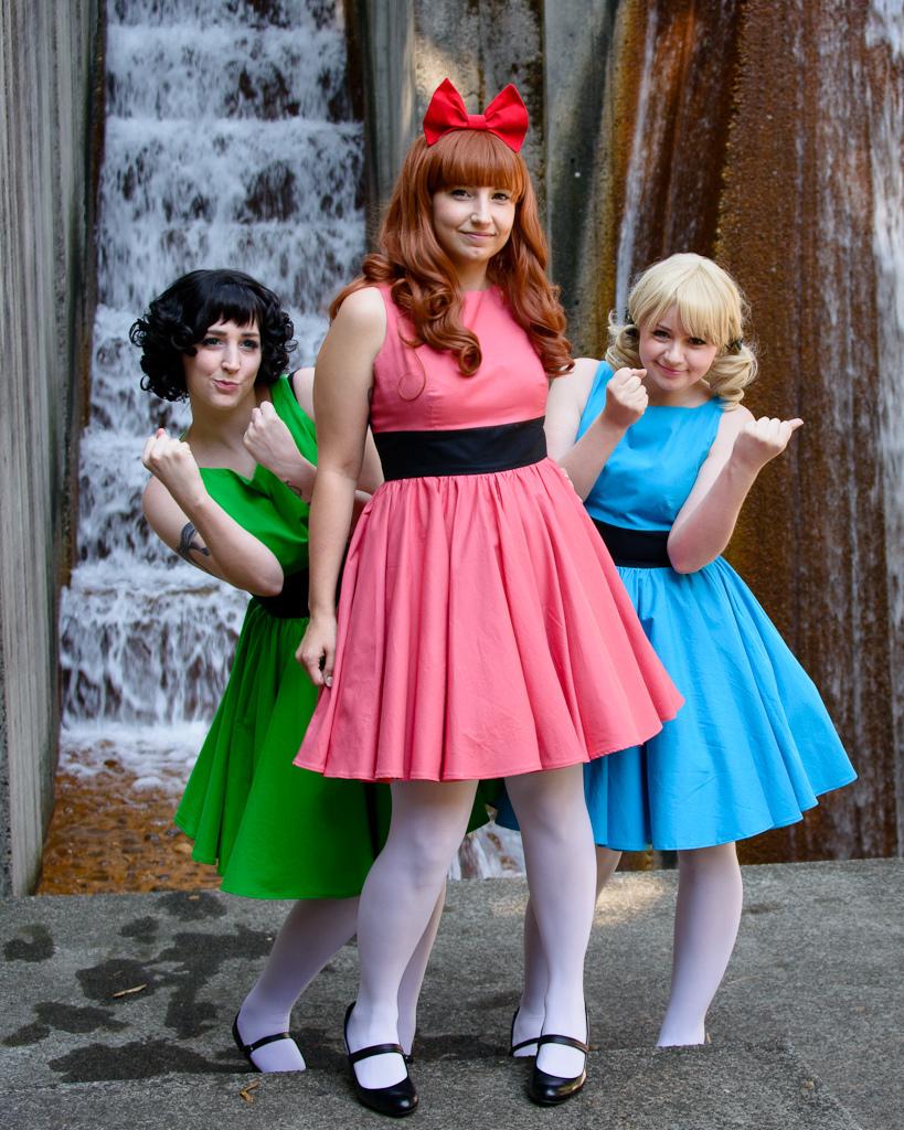 Powerpuff Girls by laurabububun