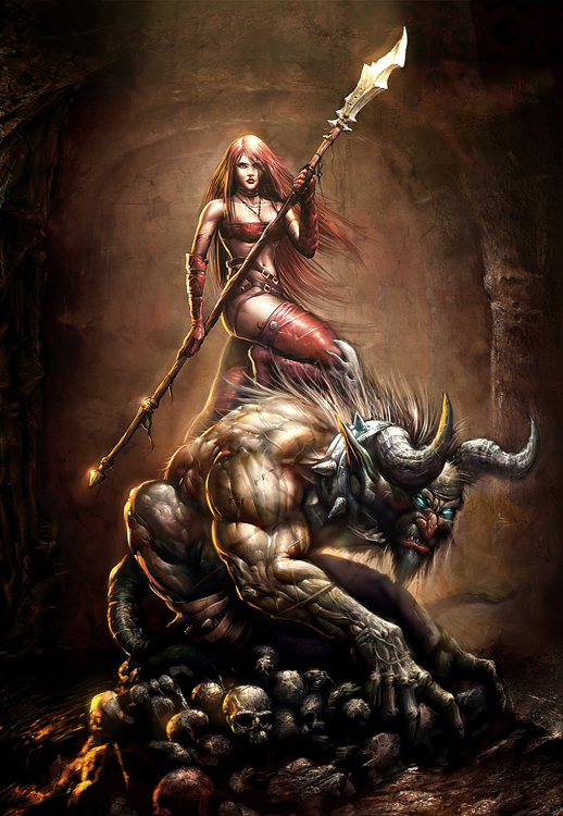 WOMEN AND THE BEAST