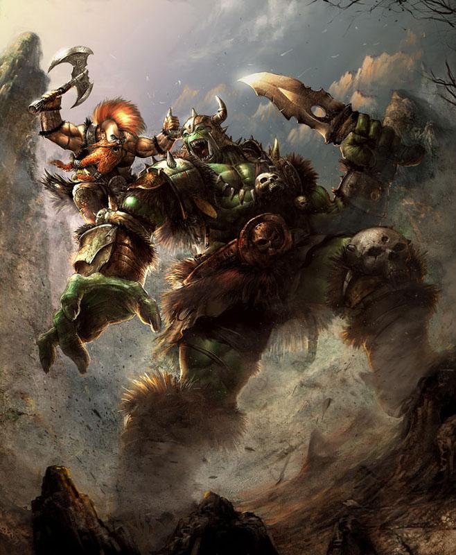 ork  and dwarf prff