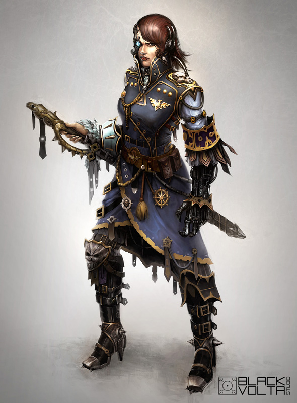 Captain Sylvia Locke by N-ossandon-Nezt