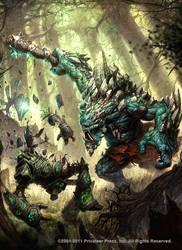 mulg vs woldwarden y woldwyrd by N-ossandon-Nezt