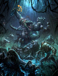Gatorman! by N-ossandon-Nezt