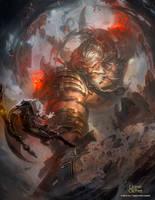 Ancestral Giant by N-ossandon-Nezt